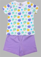 SAPS - Printed T Shirt With Shorts Set