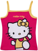 Hello Kitty - Singlet Top With Kitty Print