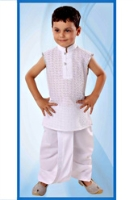 SAPS - Sleeveless Kurta And Dhoti Set