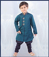 SAPS - Ethnic Jodhpuri And Pajama Set