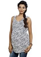 Buy Nine - Maternity Floral Print Tunic Top