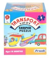 Shaped Puzzle - Transport