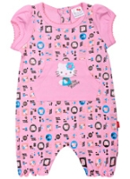 Hello Kitty - Cap Sleeves Printed Romper