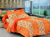 Cenizas Cotton Double Bed Sheet 165 - A