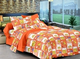 Cenizas Cotton Double Bed Sheet 170 - B