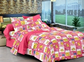 Cenizas Cotton Double Bed Sheet 170 - C