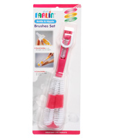Farlin - Bottle & Nipple Brushes Set