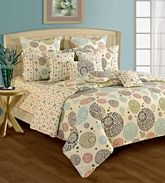 Swayam Cosmo 36 Printed Single Bed Set SBS11 - 1404