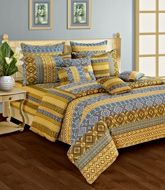 Swayam Cosmo 36 Printed Extra Large Bed Set DBS XL - 1405