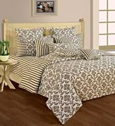 Swayam Cosmo 36 Printed Single Bed Set SBS11 - 1409