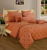 Swayam Cosmo 36 Printed Double Bed Sets DBS11-1410