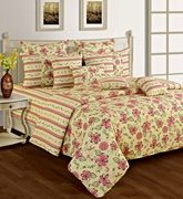 Swayam Cosmo 36 Printed Extra Large Bed Sheet Set DBS XL -1413
