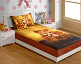 Swayam Digital Print Baby Bed Sheet Set - SKB-125 Teddy