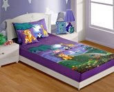 Swayam Digital Print Baby Bed Sheet Set - SKB-140 Moonlight