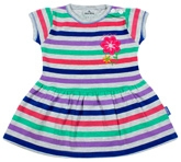 Child World - Multicolor Striped Frock