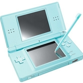 Nintendo - NDS Lite Portable Hand Game Light Blue