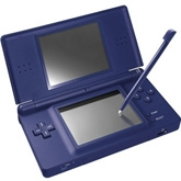 DS Lite Portable Console Game 6 Years+, Deep Blue Colored Slick Body Game For Your...
