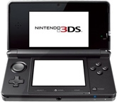 Nintendo -  3DS Hand Held Game 3D Black