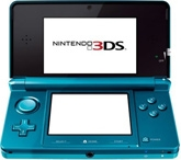 3DS Hand Held 3D Game Blue 6 Years+, 3DS System Opens Up A World Of Eye-popping...