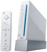 Nintendo - Wii White Console With 5 IN 1 Sports Game