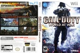 Wii Call Of Duty World At War  Game 6 Years+, Call Of Duty War Action Video Game For Kid...