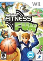 Family Party Fitness Fun Games Wii 6 Years+, A great  family game to play with  your ki...