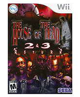 Nintendo - House Of The Dead 2 And 3 Games
