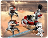 Lego - Clone Trooper VS Droidekas  