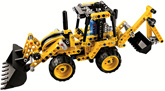 Lego - Technic 2 in 1 Mini Backhoe Loader