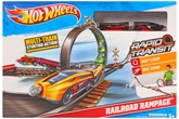 Hot Wheels - Rapid Transit Railroad Rampage Track Set