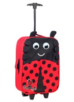 Smash - Rolling Luggage Case Ladybird
