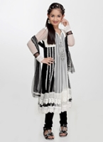 Girlish - Anarkali Style Salwar Suit Set With Dupatta