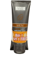 VLCC - Men Active Light Hair And Body Wash - Buy 1 Get 1 Free