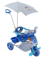 Buy Fab N Funky - Blue Scooter Style Baby Tricycle