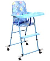 New Natraj - Blue Multipurpose Baby High Chair