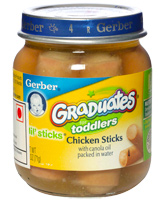 Gerber - Graduates Chicken Sticks