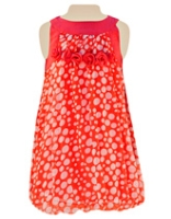 Nauti Nati - Sleeveless Frock With Dot Print