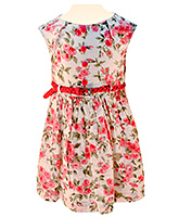 Nauti Nati - Sleeveless Rose Print Dress