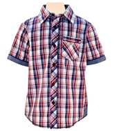 Nauti Nati - Half Sleeves Formal Checks Shirt