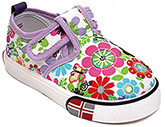 Doink - Floral Design Canvas Shoes