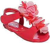 Doink - Leather Sandal With Roses