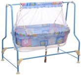 New Natraj - Cocoon Light Heart Print Baby Cradle