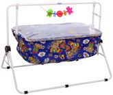 New Natraj - Blue And White Comfy Cradle