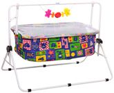 New Natraj - Blue And Yellow Comfy Cradle