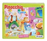 Frank - Puzzle - Pinocchio 3 Years+, 24 Pieces