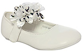 Doink - Rose Design Shoes With Pearls