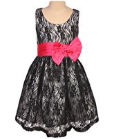 Little Darling - Sleeveless Party Lace Frock