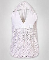 SAPS - Sleeveless Balloon Pattern Top