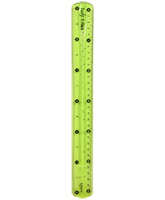 Twist And Flex Scale Green, 30 Cm, Measure Accurately!