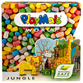 World Jungle Modelling Material 3 Years+, 1000 Pieces, Safe 100% Biodegradable Mater...